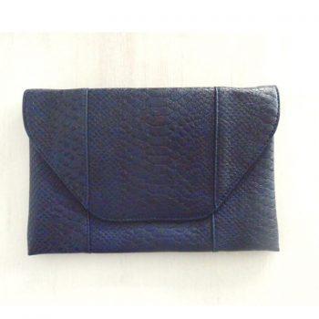 Bolso de Mano Print Azul