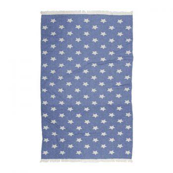 Toalla Pestemal Estrella Azul