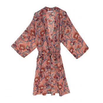 Bata kimono coral