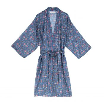 Bata kimono de florecitas