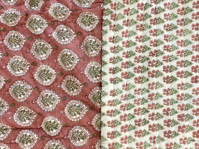 Colcha india reversible
