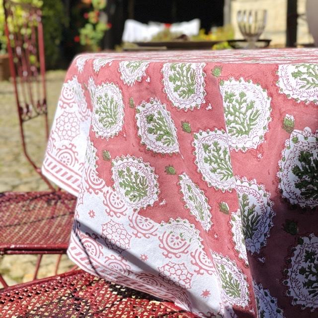 Mantel indio flor