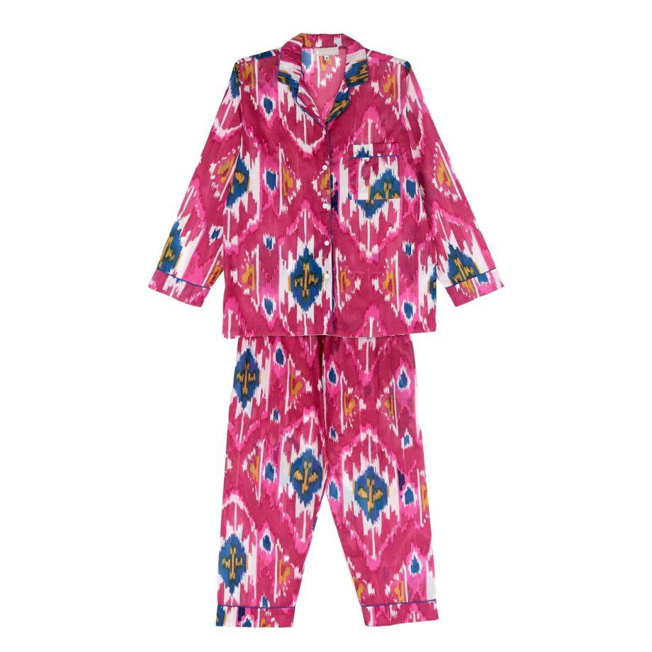 Pijama ikat fucsia