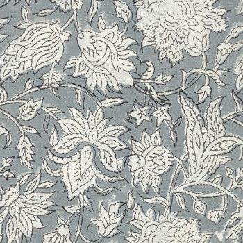 Servilletas flores gris