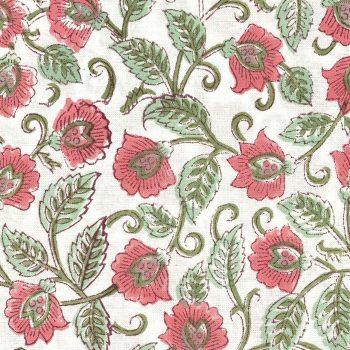 Servilletas flor rosa